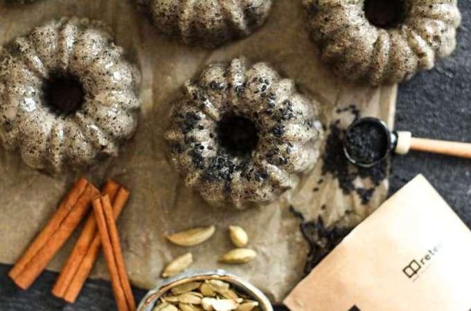 Sesame Cake Recipe + Giveaway