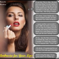 Ambrosia for Your Lips