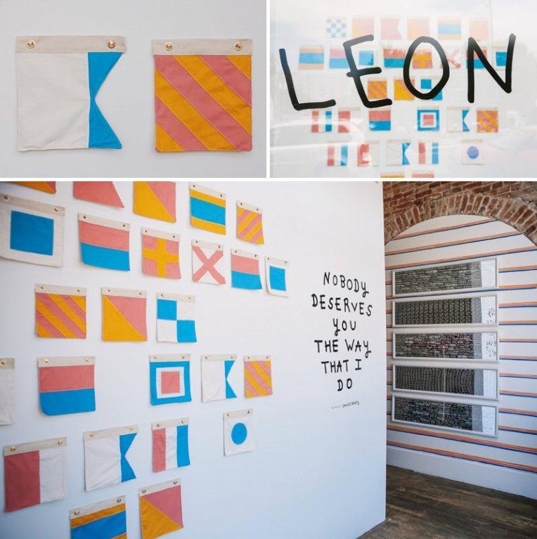 Jackie Barry at Leon Gallery | www.amandatipton.com