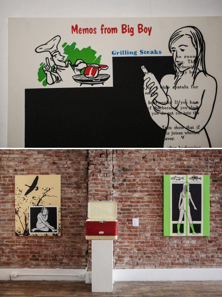 Rene Farkiss Camp at Leon Gallery | www.amandatipton.com