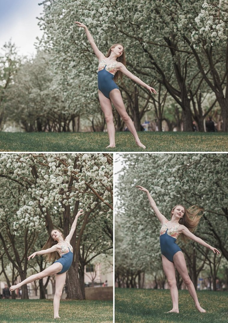 Ballet Photography,Blossoms,Denver Dance,Denver Dance Photographer,Kenzie Cohen,Spring,Teen Ballet,