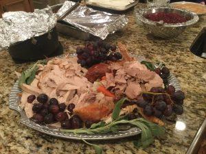 This year's Thanksgiving turkey.