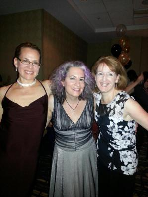 Me, Jessica Topper, and Alison Stone at RWA13