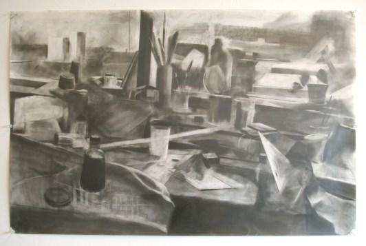 "graphite on mylar, 24""x 36"", 2012"