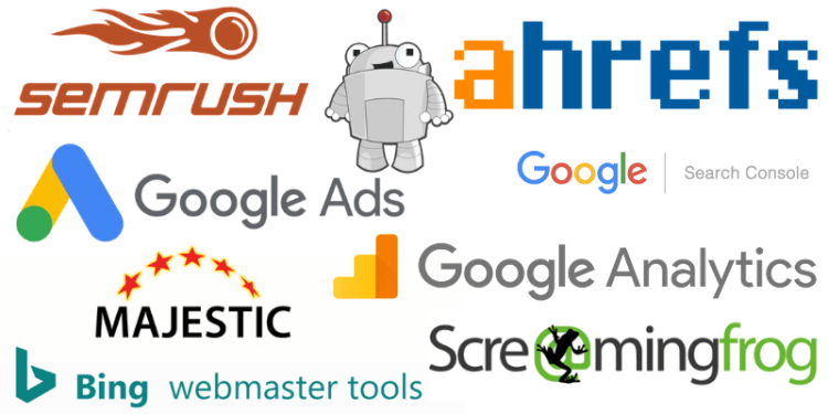 Tools used by Freelance SEO Specialist Amanda White DIgital