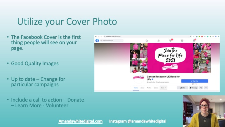 Use you Facebook Page Cover to your advantage