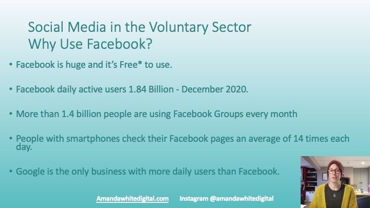 Why use Social Media in the Voluntary and Charity Sector