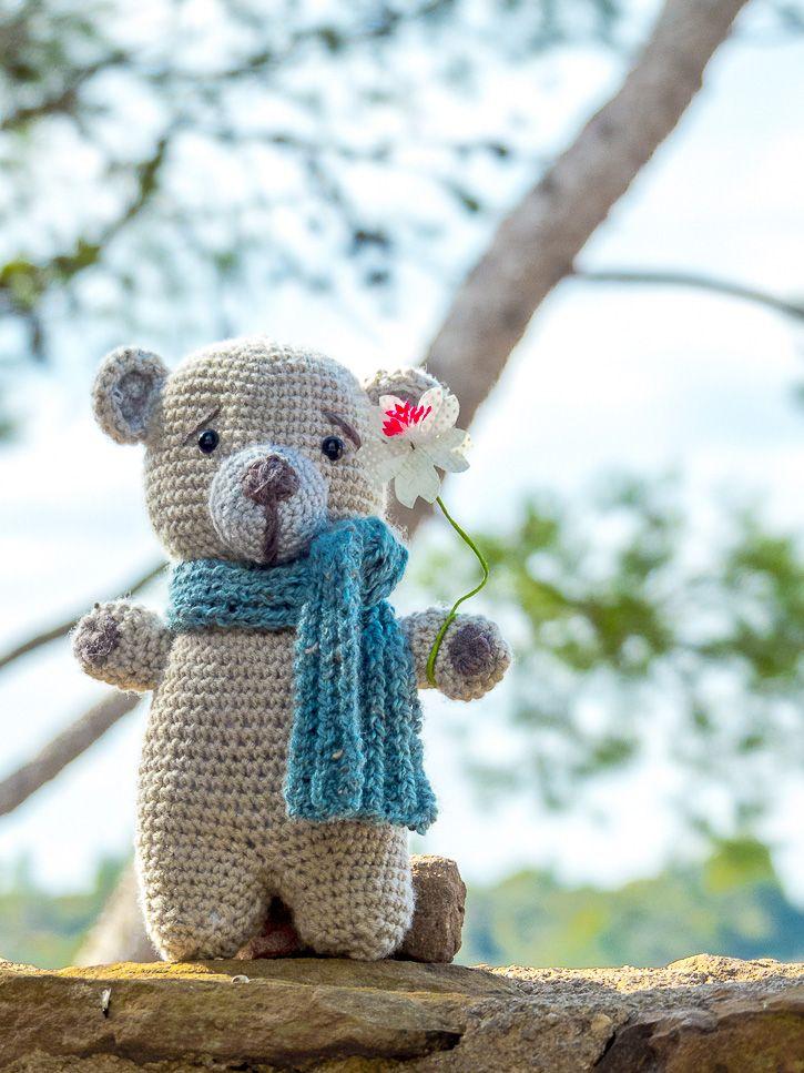 ourson au crochet teddy l amigurumi