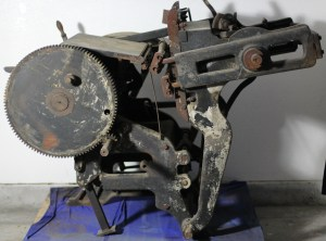 Printing press used from 1913-48