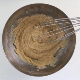 préparation gateau farine de chataigne