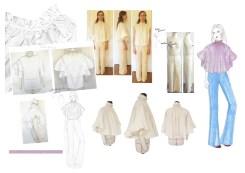 11 Silhouette création manteau blouse et pantalon
