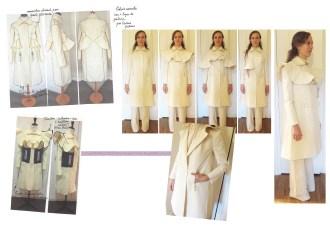 9 Silhouette création manteau