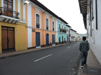 Calles de Quito, hermosas!