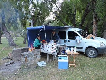 Días de camping en los Alerces