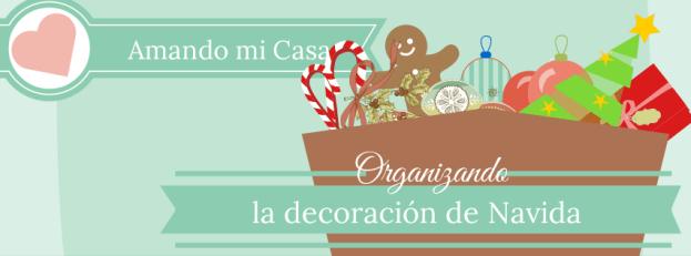 organizar la decoración navideña