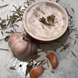 mantequilla con hierbas de olor