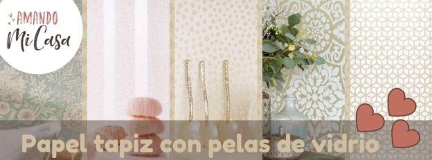 Papel-tapiz-con-perlas-de-vidrio