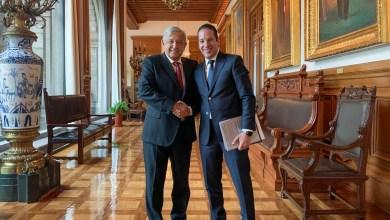 Photo of Se reúne Gobernador con el Presidente de la República