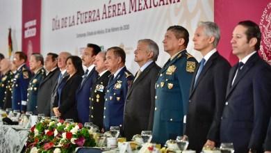 Photo of Asiste Gobernador al CV Aniversario de la Fuerza Aérea Mexicana