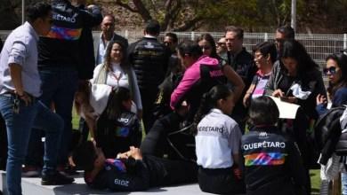 Photo of Con lesiones Karina Castro de Domínguez