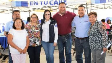Photo of Lety Rubio atiende a habitantes de San Pablo Tolimán