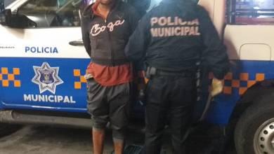 Photo of Elementos de Seguridad Pública capturan a sujeto armado