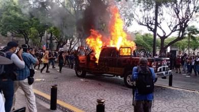 Photo of Fuera de control, protesta en Jalisco por asesinato de Giovanni López