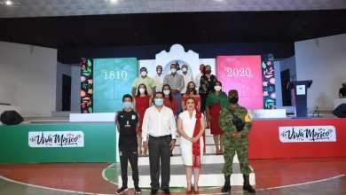 Photo of Chely Amador presidenta de Jalpan de Serra dio el grito en el auditorio municipal