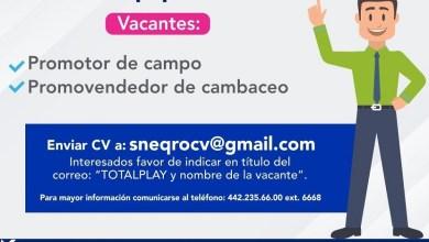 Photo of Se ofertan 37 plazas formales en empresa de telecomunicación