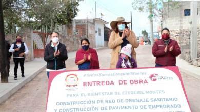 Photo of Elvia Montes entregó obras por 3 millones de pesos
