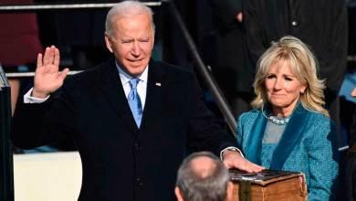 Photo of Joe Biden juramenta como el presidente 46 de E.U; llama a la unidad