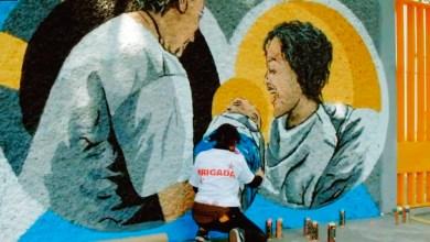 Photo of Inauguran mural en homenaje a enfermeras y enfermeros
