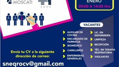 Photo of La ST convoca a reclutamiento masivo para el área de salud
