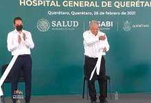 Photo of AMLO y Pancho Domínguez inauguran nuevo Hospital General de Querétaro