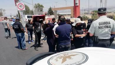 """Photo of Manifestantes bloquearon la México-Querétaro por """"mal fallo"""" de un juez"""