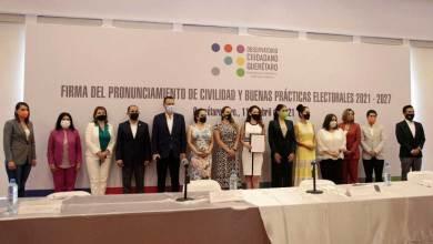 Photo of Algunos candidatos firmaron el pacto de civilidad del Observatorio Ciudadano