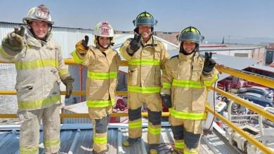 Photo of Reconoce Tania Ruiz el apoyo de Roberto Cabrera hacia los bomberos