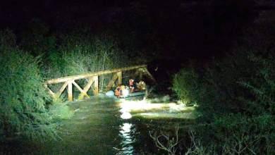 Photo of Así fue el rescate de 3 niños que cayeron al río en San Nicolás, Tequisquiapan