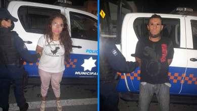 Photo of Policías detienen a pareja que ingreso a domicilio sin autorización de propietarios