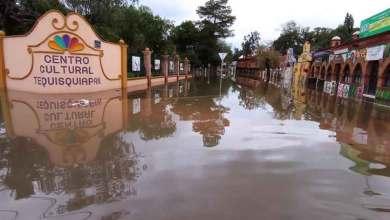 Photo of Centro de Tequisquiapan bajo el agua, otra vez…