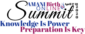 AMANI Birth Online Summit 2020