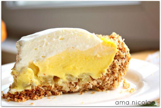 tarta cu anans si cocos