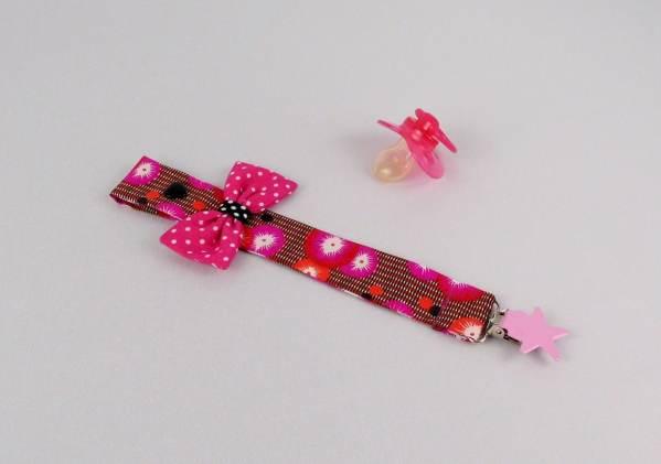 accroche-tetine-fille-rose-cadeau-naissance-personnalisable