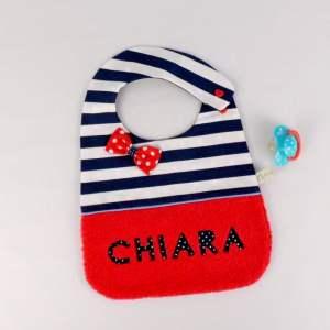 bavoir-personnalise-prenom-chiara-style-marin-rouge-bleu-marine-cadeau-naissance-bebe-bapteme-bavoir-fille-personnalisable