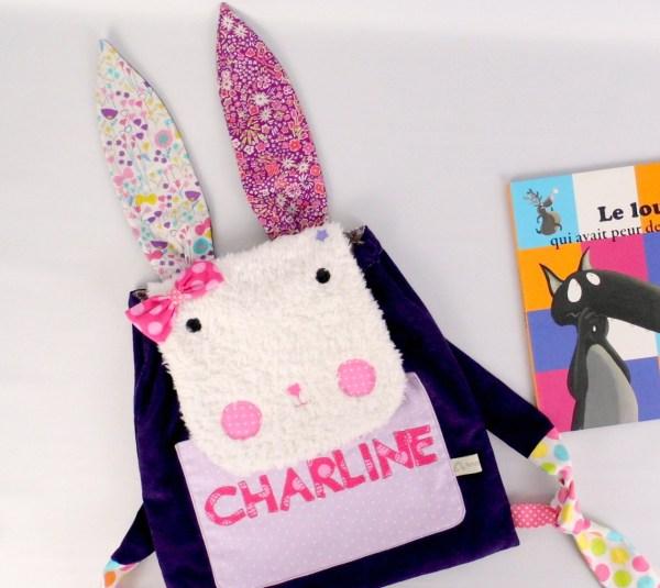 sac-a-dos-maternelle-liberty-lapin-brode-prenom-charline-sac-bebe-creche-cadeau-naissance-personnalise