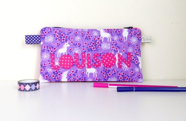 trousse-ecole-fille-personnalise-prenom-louison-rose-violet-trousse-licorne-pencilecase-personalized-name-unicorn