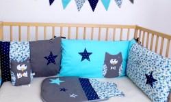 liste-de-naissance-personnalisee-sur-mesure-theme-hibou-chouette-etoiles-bleu-marine-turquoise-gris-amanite-rose
