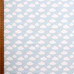 tissu-bleu-clair-imprime-nuages