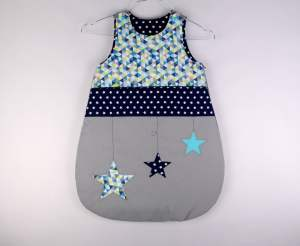 gigoteuse-taille-naissance-garcon-gris-bleu-marine-turquoise-personnalisable-cadeau-bebe-liste-naissance