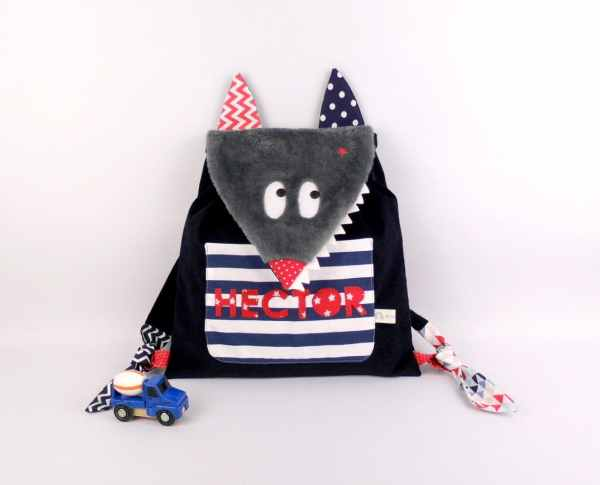 sac-a-dos-enfant-personnalise-prenom-hector-sac-a-gouter-garcon-ecole-maternelle-loup-sac-a-dos-bebe-cadeau-naissance-bapteme-wolf-backpack-with-name-preschool-baby-bag